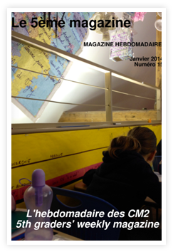 journal scolaire hebdomadaire